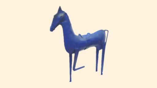 Le Cheval bleu, recueil de poésie par Camille Tillet